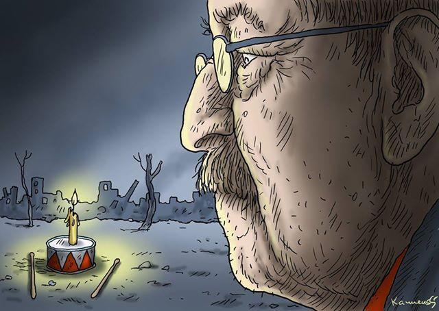 caricature Grass de Marian Kamensky 13042015