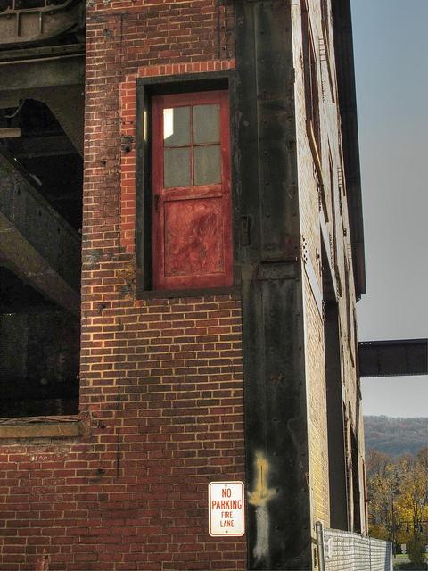 Door to Nowhere - Bethlehem Steel Site Series #12, Bethlehem Steel Site, Bethlehem PA