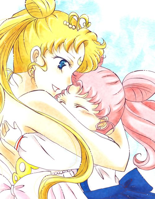 neo queen serenity and chibiusa