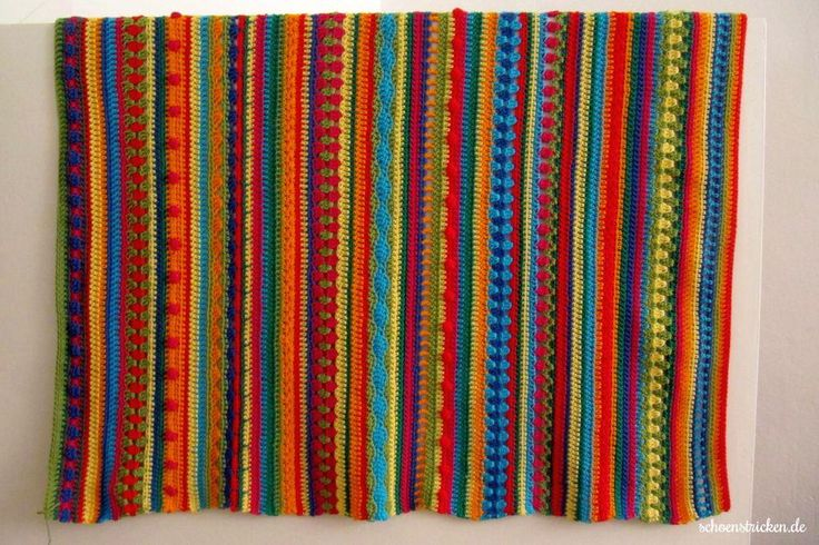 Crochet Along Babydecke Teil 11
