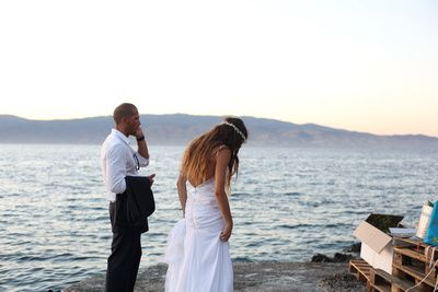 Wedding in Hydra island