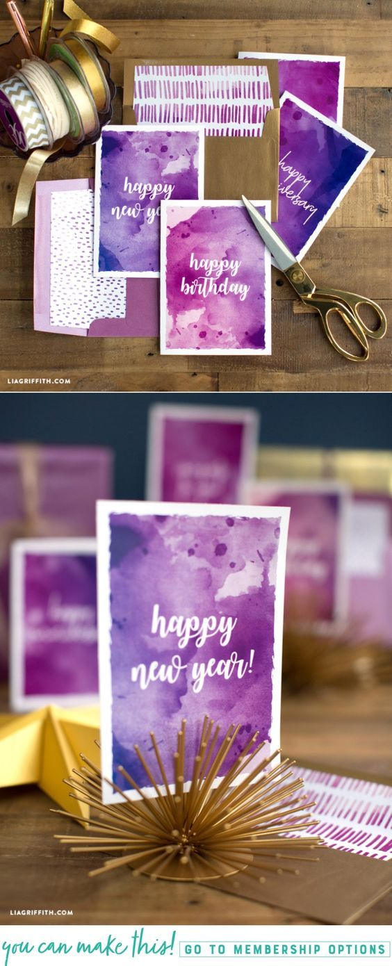 Printable Card Set for Canon - Lia Griffith - www.liagriffith.com #spons @canonusa #canon #printables #printable #diycards #diygift #diygifts #paper #paperart #madewithlia