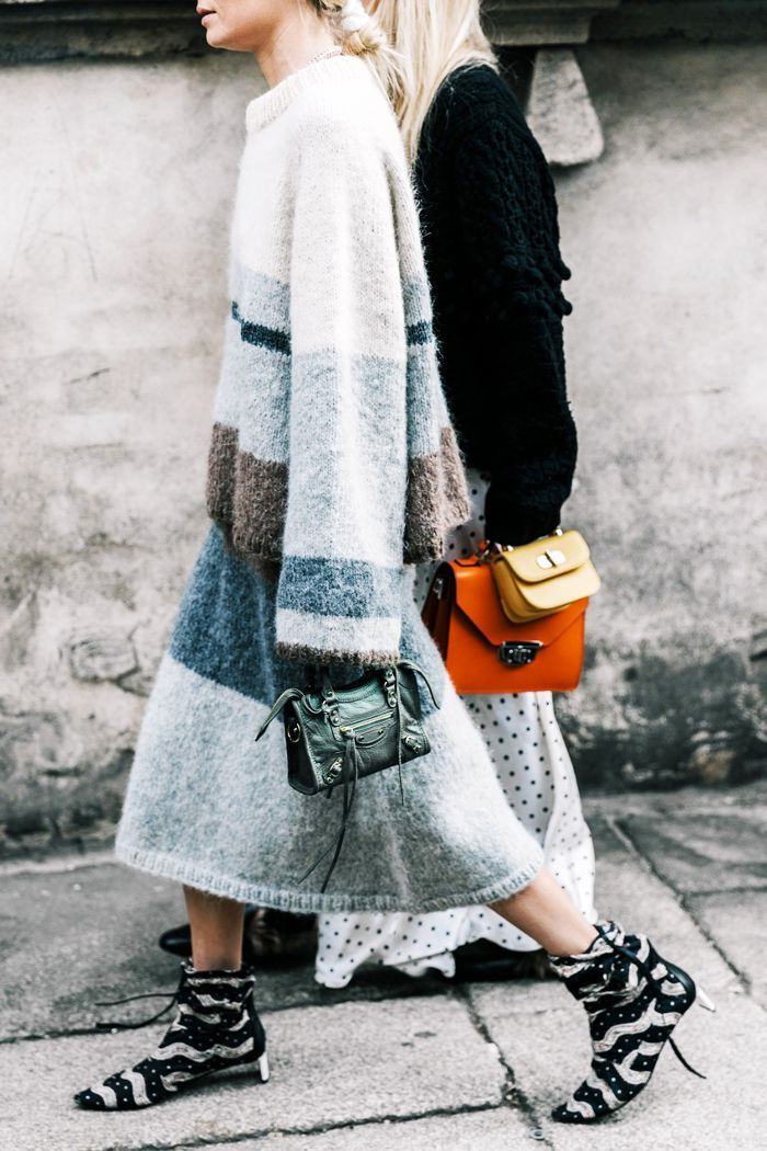 Save these cozy yet stylish outfit ideas to wear with your favorite oversize sweater.