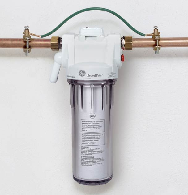 installation tip for whole home water filtration system | homestead ...
