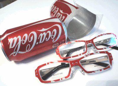 Reuse Coke Cans- Make Coke Can Eyewear