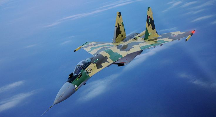 New Russian Su-35 Jets Carry Out Drills Near Kuril Islands