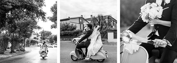 getting married with a VESPA...