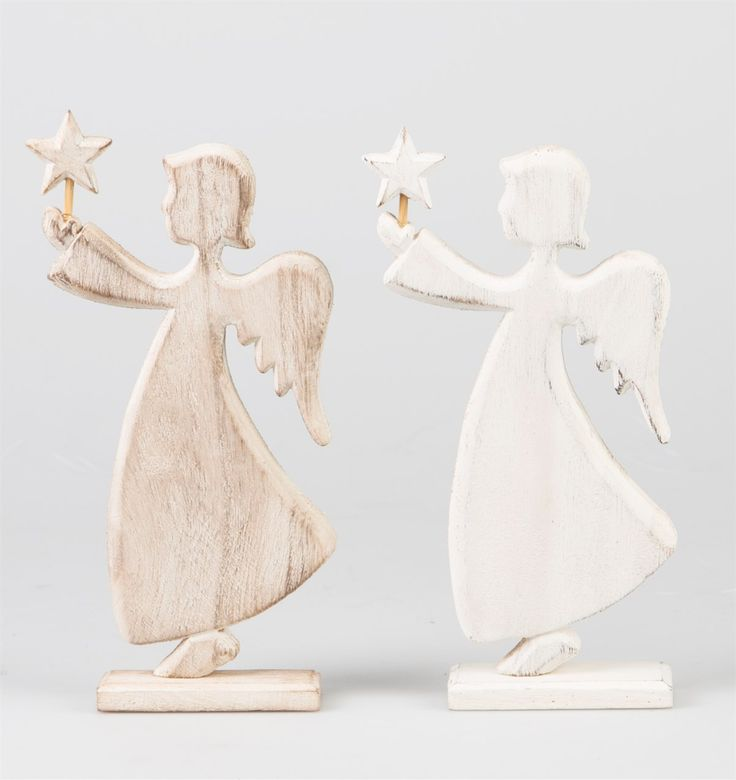 Laponia Angel Standing Decoration Assorted
