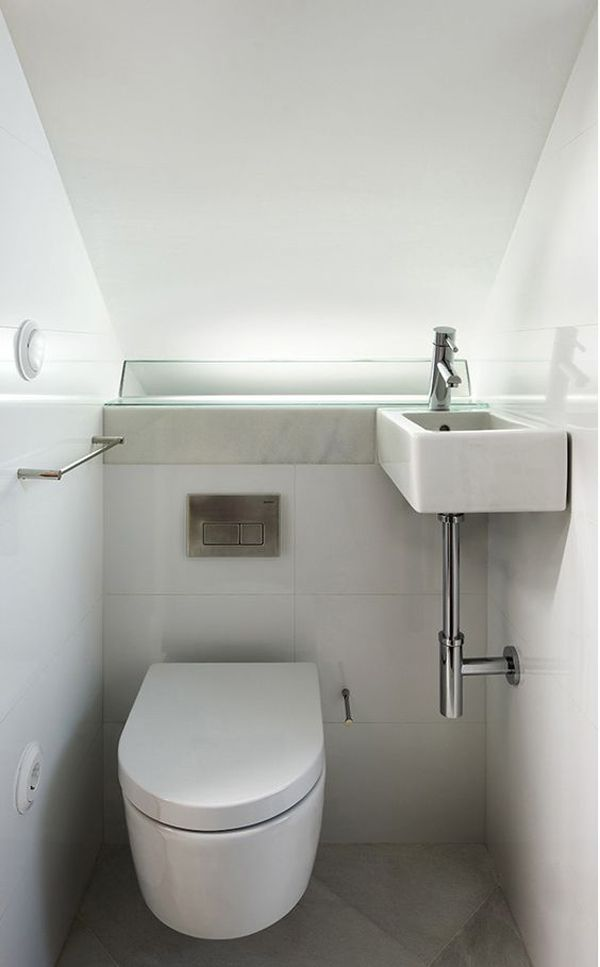 20 Toilet And Sink Combos For Tiny Bathroom Solutions Toilet Solutions Combos Bathroom Tinybathroomsolutions In 2019