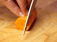How to: Julienned Carrots