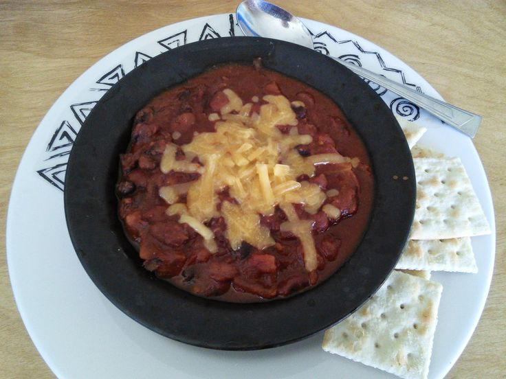 mom knows best : Easy Vegetarian Chili With Olde Westport Spice Company