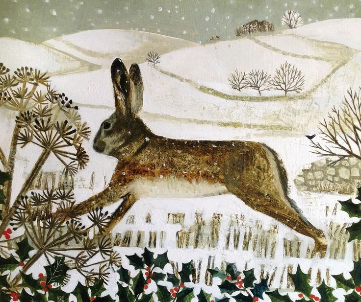 Vanessa Bowman - Hare, Holly & Hillside