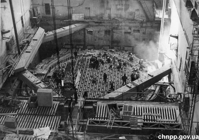 construction begins may 1970 on the chernobyl nuclear ...