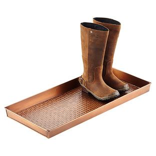 Copper Boot Trays