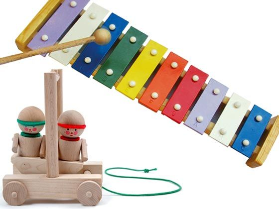 Brinquedos Pedagógicos de Madeira 1