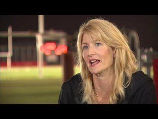 When the Game Stands Tall: Laura Dern Interview --  -- http://www.movieweb.com/movie/when-the-game-stands-tall/laura-dern-interview