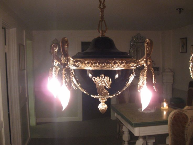 Magnificent Restored Antique 5 Light French Empire Chandelier | eBay - 74 Best Antique French Lighting I Love Images On Pinterest