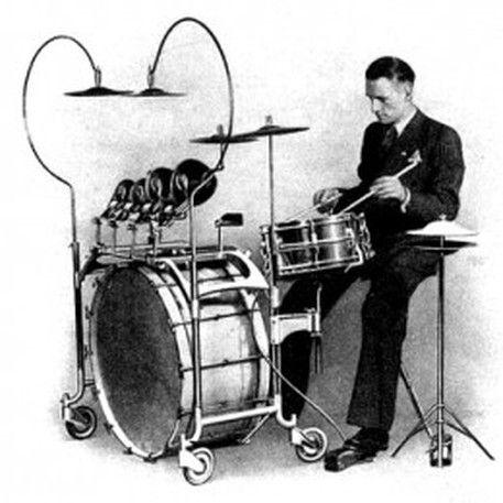 Cool old drum kit