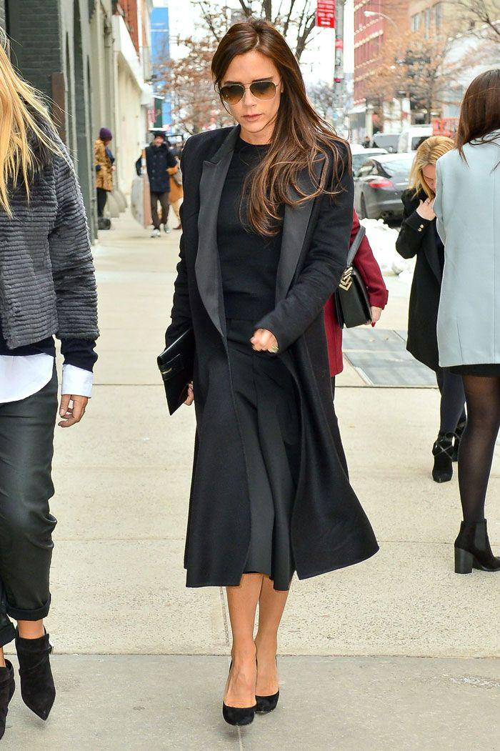 Victoria Beckham hurmaa täydellisellä katutyylillään