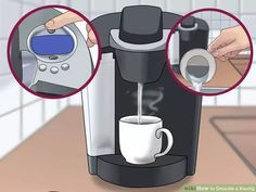 Keurig Coffee Maker Descaler Instructions : Best 25+ Descale keurig ideas on Pinterest Descale coffee machine, Diy glass cleaning and ...