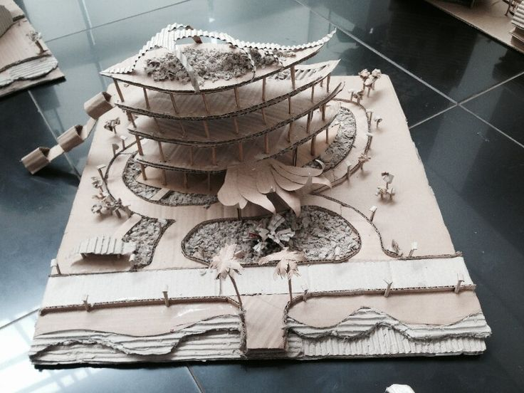[CREATIVE CITY] Architectural model: Office building