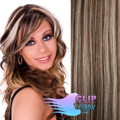 Clip prodloužení vlasů