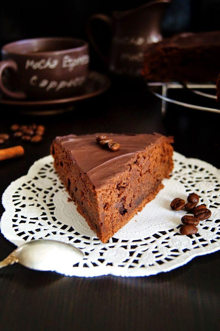 Глазированный шоколадный торт от Марты Стюарт