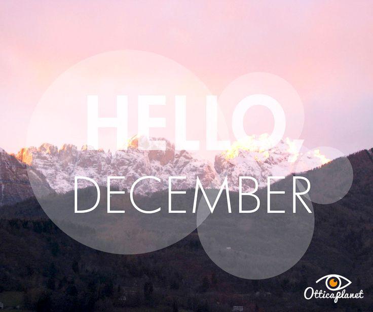 Benvenuto Dicembre! A proposito, quanti di voi amano la montagna? :)