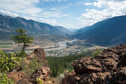 Climb the Red Rock grind in Lillooet, BC. The view is spectacular!