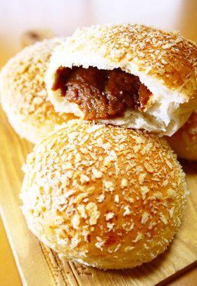 夏休みのお惣菜パンランチ!焼きカレーパン by ほっこり~の [クックパッド] 簡単おいしいみんなのレシピが241万品