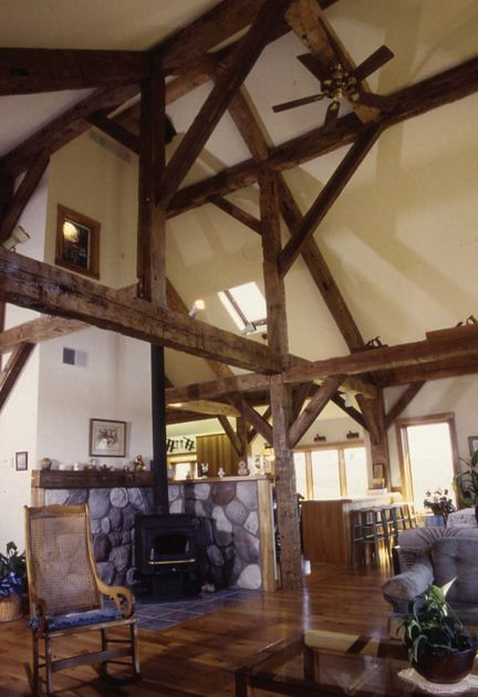 timber frame timber frame home interiors by new energy works