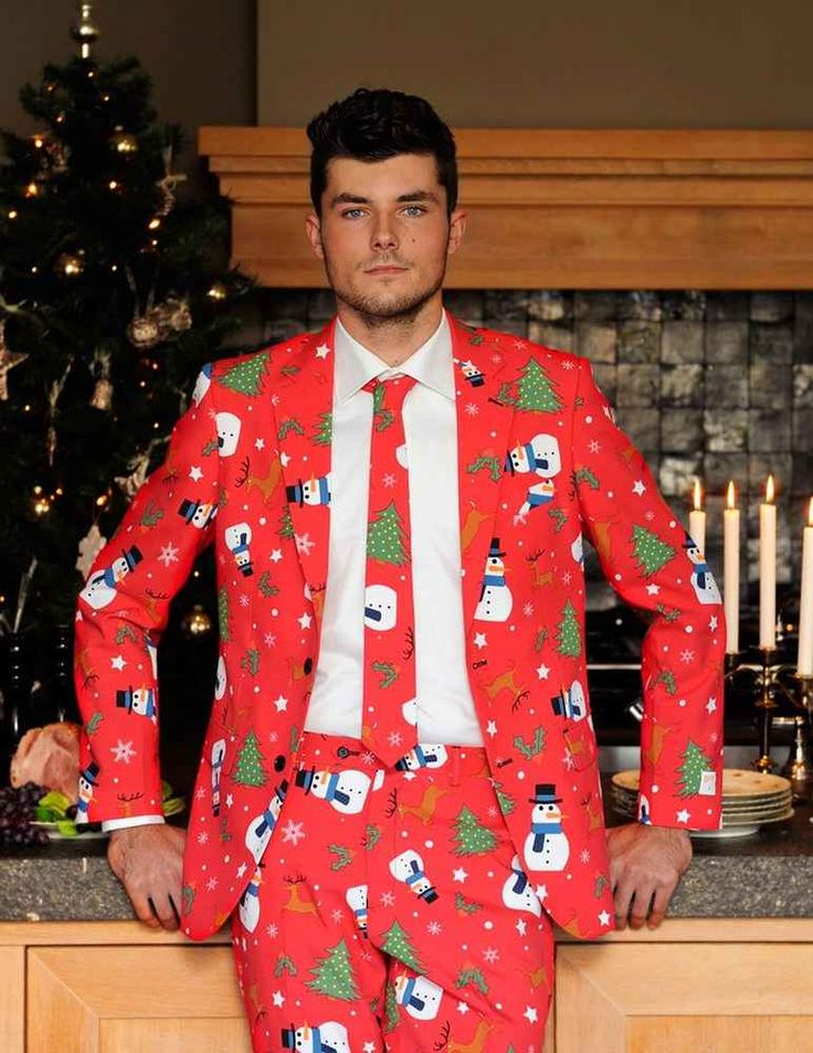Ugly christmas suits by opposuits for Over the top ugly christmas sweaters