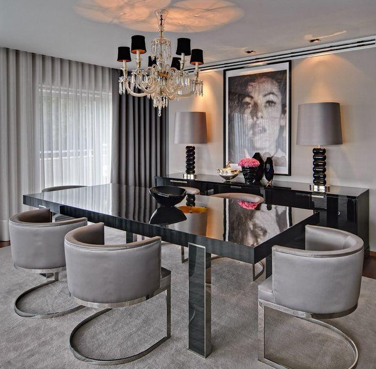 Grey dining room!                           …