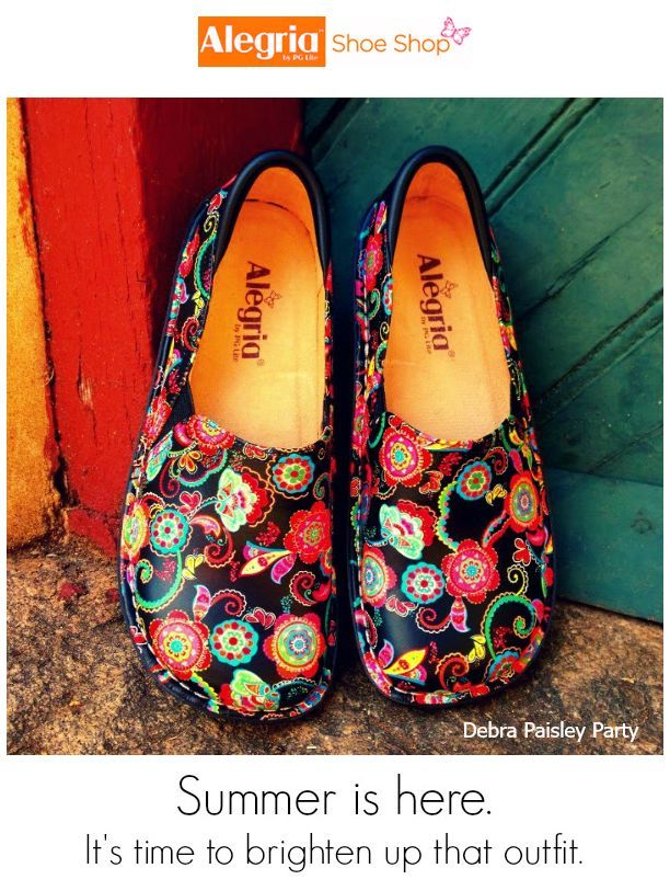 Brighten up your outfit with Alegria Shoes! | Alegria Shoe Shop ...