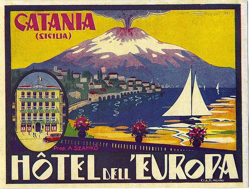 Hotel dell'Etna, Catania, Sicily