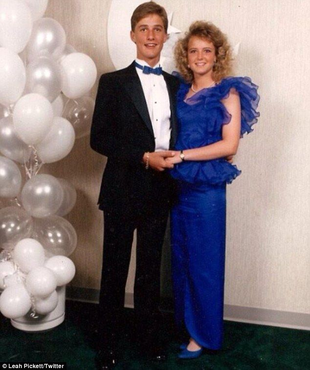 Matthew McConaughey and his high school prom