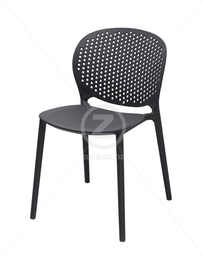 Sonnet Chair by Ennio Mirrino – Charcoal