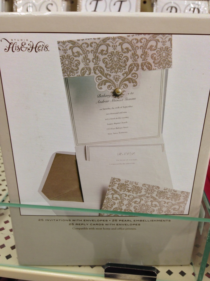 hobbylobby com wedding templates - hobby lobby wedding invitation my dream wedding pinterest