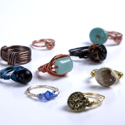 Wire Wrapped #Rings Instructions #DIY #jewelry
