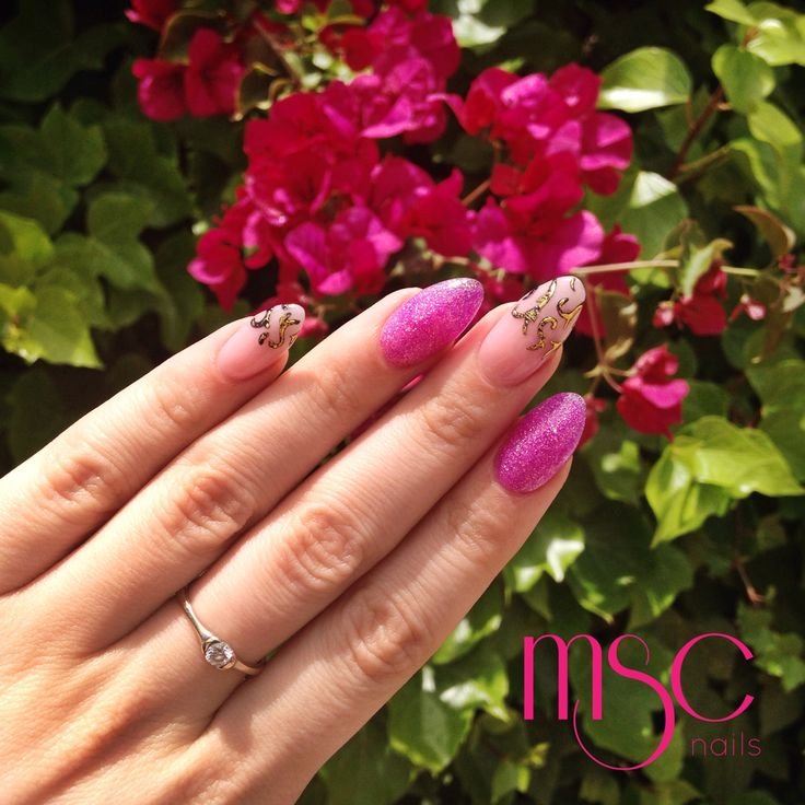 #mscnails #nails #uñas #fantasynails #gelfoil #foil #glitternails #acrylicnails #uñasacrilicas #