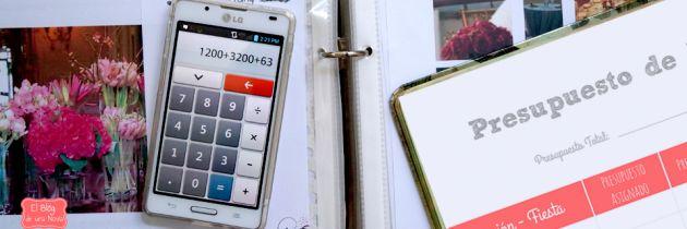 Llevar un registro de los gastos de la Boda... MUCHAS LISTAS :)!!!