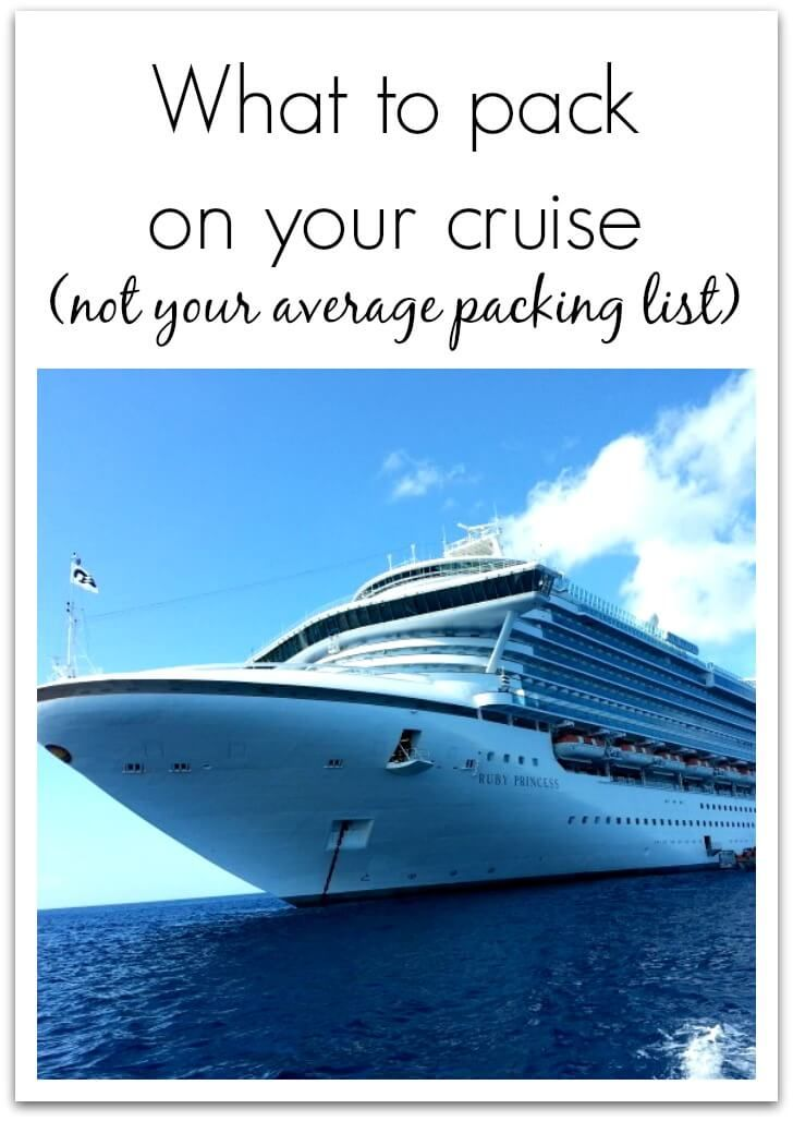 Cruise Packing – SO Smart – Things to Remember to Bring on Your Cruise! via @jfishkind