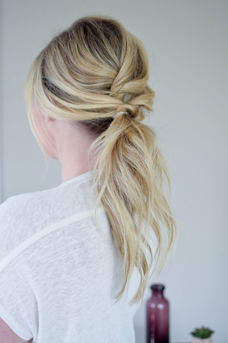 The Textured Ponytail//Kate Bryan from The Small Things Blog