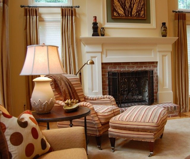 Fireplace Dc Part - 45: An Expanse Of Space - Traditional - Family Room - Dc Metro - Meredith  Ericksen (mantel)