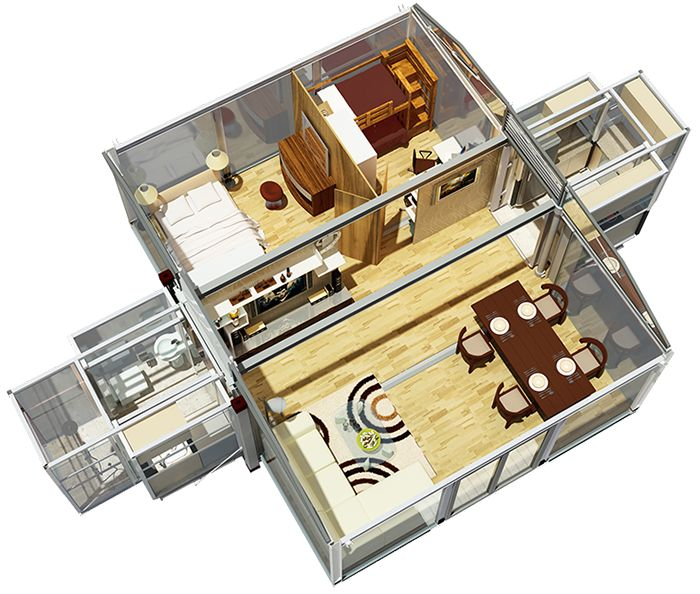 Amazing Off Grid Expandable Portable Shipping Container