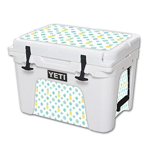 MightySkins Protective Vinyl Skin Decal for YETI Tundra 35 qt Cooler wrap cover sticker skins Island Designer >>> Check out the image by visiting the link.(This is an Amazon affiliate link and I receive a commission for the sales)
