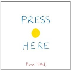 """""""Press Here"""" Book by Herve Tullet"""
