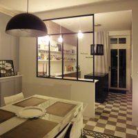 La cuisine ouverte - verrière - Marie Claire Maison