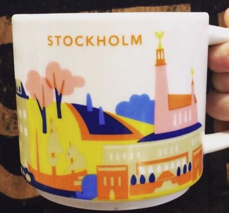 Stockholm | YOU ARE HERE SERIES | Starbucks City Mugs