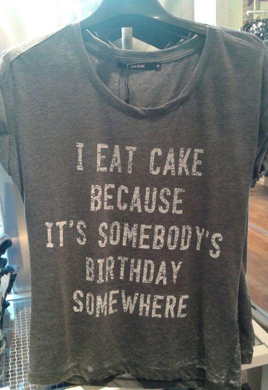 Somewhere it's birthday time.